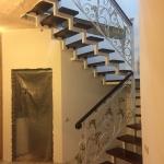 Лестница кованая из металла Барнаул Курдалагон