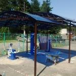 Навес для детской спорт площадки
