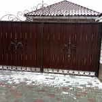 Ворота и калитка кованые Барнаул Курдалагон