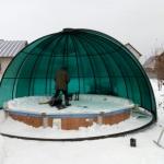 Укытие для бассейна Барнаул Курдалагон