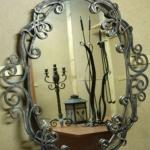 Зеркало кованое Курдалагон Барнаул (17)