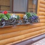 Кованая цветочница под ящики Курдалагон Барнаул