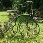 цветочница кованая велосипед Барнаул Курдалагон