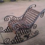 Кресло качалка кованое Курдалагон Барнаул (1)