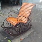Кресло качалка кованое Курдалагон Барнаул (11)