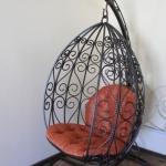 Кресло качалка кованое Курдалагон Барнаул (12)