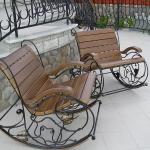 Кресло качалка кованое Курдалагон Барнаул (16)