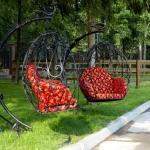 Кресло качалка кованое Курдалагон Барнаул (17)