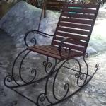 Кресло качалка кованое Курдалагон Барнаул (2)