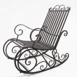 Кресло качалка кованое Курдалагон Барнаул (3)
