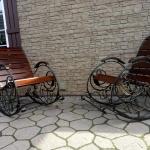 Кресло качалка кованое Курдалагон Барнаул (8)