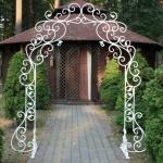 Кованые арки и перголы Курдалагон Барнаул (15)