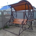 Качели кованые садовые Барнаул Курдалагон