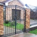 Ворота кованые Барнаул (1)