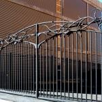 Ворота кованые Барнаул (10)