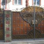 Ворота кованые Барнаул (11)