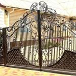 Ворота кованые Барнаул (12)