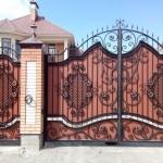 Ворота кованые Барнаул (13)