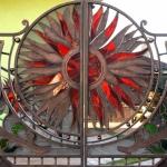 Ворота кованые Барнаул (15)