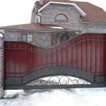 Ворота кованые Барнаул (16)