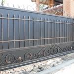 Ворота кованые Барнаул (17)