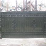 Ворота кованые Барнаул (18)