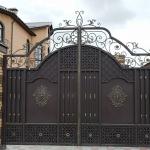 Ворота кованые Барнаул (2)