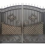 Ворота кованые Барнаул (21)