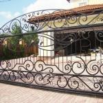 Ворота кованые Барнаул (3)
