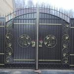 Ворота кованые Барнаул (4)