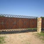 Ворота кованые Барнаул (5)