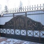 Ворота кованые Барнаул (6)