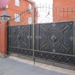 Ворота кованые Барнаул (7)