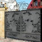 Ворота кованые Барнаул (8)