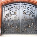 кованые ворота заказать Барнаул (10)