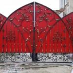 кованые ворота заказать Барнаул (11)