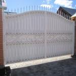 кованые ворота заказать Барнаул (12)