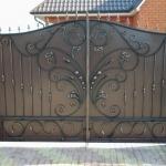 кованые ворота заказать Барнаул (13)