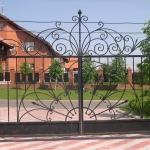 кованые ворота заказать Барнаул (14)