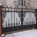 кованые ворота заказать Барнаул (15)