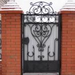 кованые ворота заказать Барнаул (16)