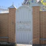 кованые ворота заказать Барнаул (17)