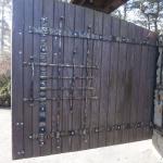 кованые ворота заказать Барнаул (19)