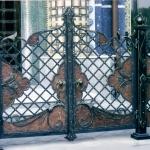 кованые ворота заказать Барнаул (20)
