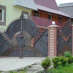 кованые ворота заказать Барнаул (23)