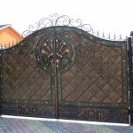 кованые ворота заказать Барнаул (26)