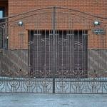 кованые ворота заказать Барнаул (27)