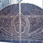 кованые ворота заказать Барнаул (3)