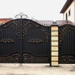 кованые ворота заказать Барнаул (4)
