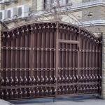 кованые ворота заказать Барнаул (6)